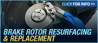 Click to View Information about Ford Brake Rotor Resurfacing and Replacement Service