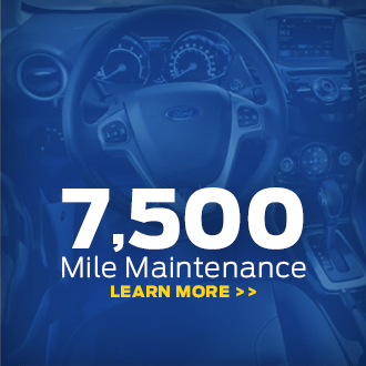 Click to View 2017 Click to View Ford 7,500 Mile Maintenance Information