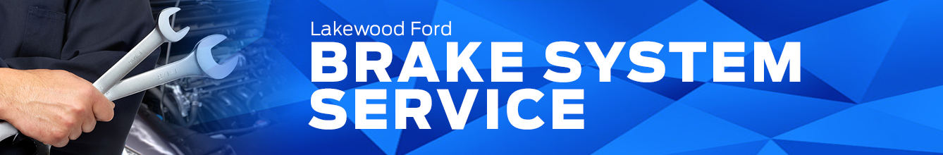 Genuine Ford Brake System Service Information in Lakewood, WA
