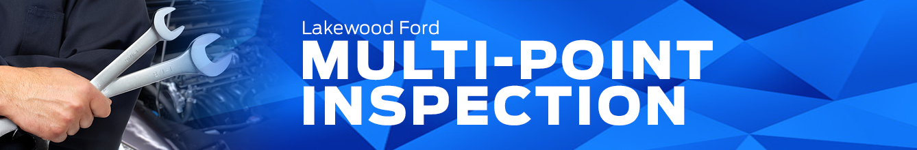Genuine Ford Multi-Point Inspection Service Information in Lakewood, WA