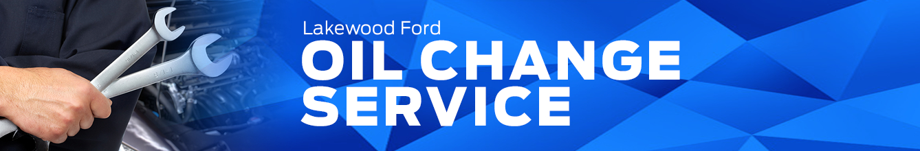 Genuine Ford Oil Change Service Information in Lakewood, WA