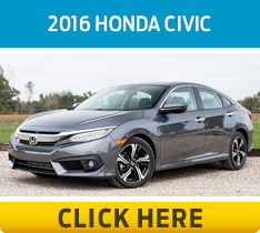 Click to compare the 2016 Ford Focus & Honda Civic models in Lakewood, WA