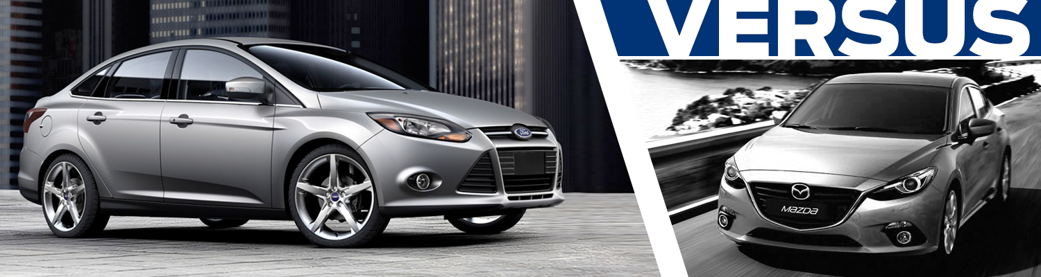 2016 Ford Focus VS 2016 Mazda 3 Model Comparison in Lakewood, WA