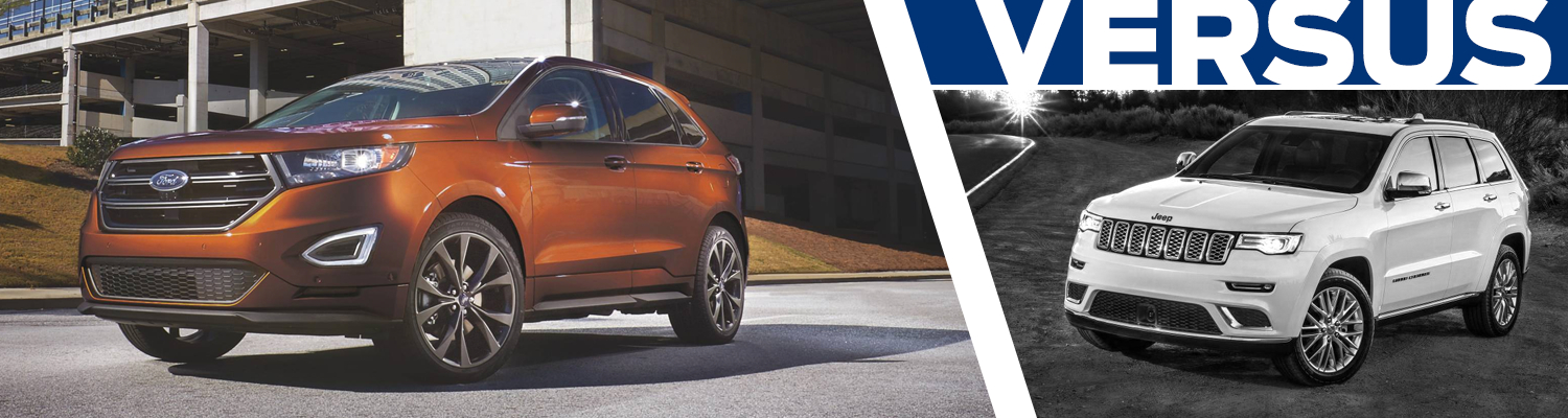 Compare the 2017 Ford Edge & 2017 Jeep Grand Cherokee models in Lakewood, WA