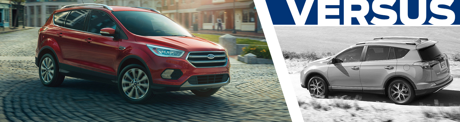 2017 Ford Escape vs 2017 Toyota RAV4 Model Comparison in Lakewood, WA