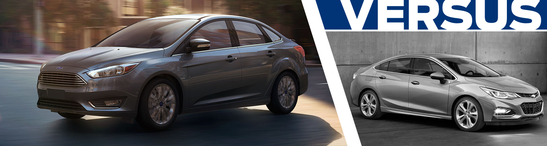 2017 Ford Focus vs 2017 Chevrolet Cruze Model Comparison in Lakewood, WA