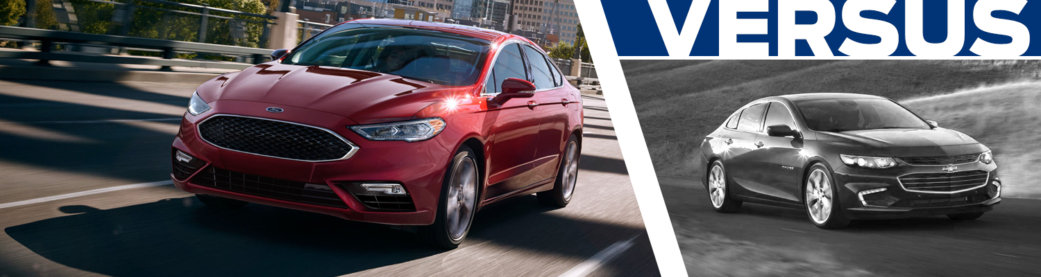 2017 Ford Fusion vs 2017 Chevrolet Malibu Model Comparison in Lakewood, WA
