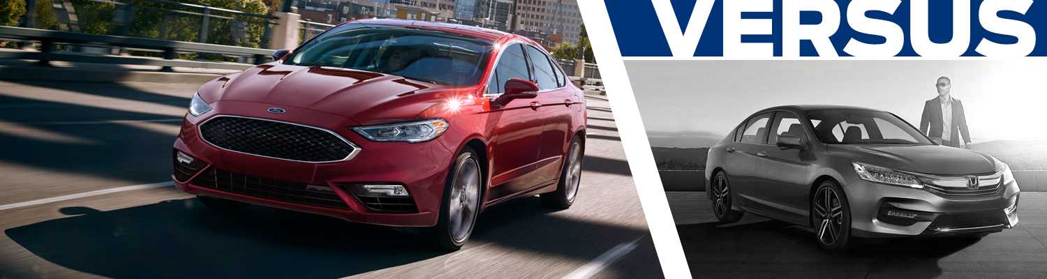 Compare 2017 Ford Fusion vs Honda Accord