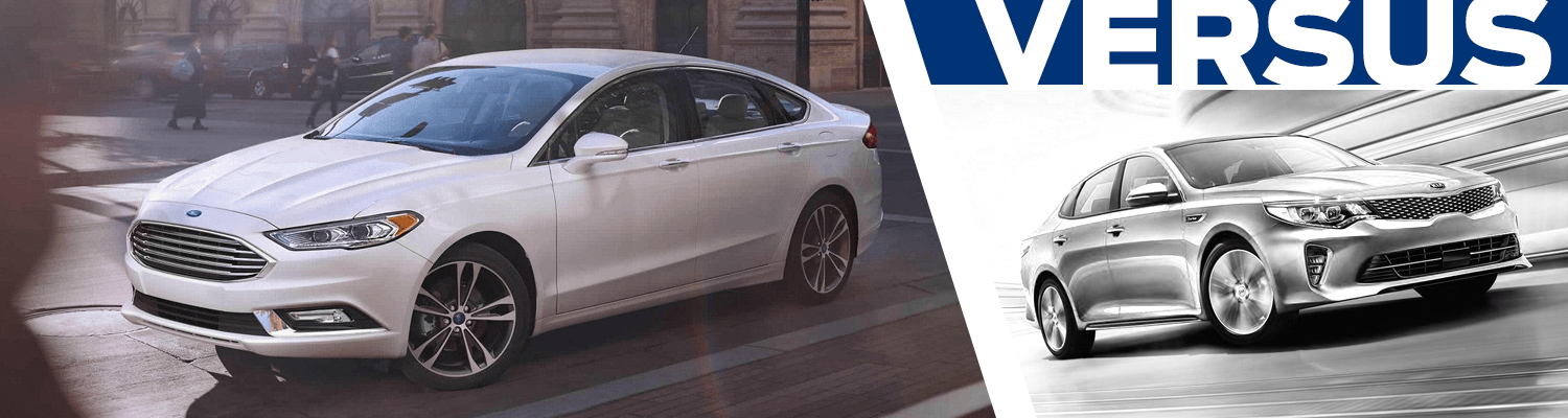 Compare the 2018 Ford Fusion and 2018 Kia Optima models in Lakewood, WA
