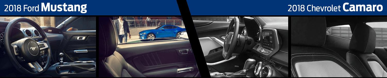 2018 Ford Mustang vs 2018 Chevrolet Camaro Interior Comparison