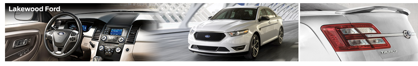 New 2016 Ford Taurus Mid-Size Sedan Model Information & Specifications