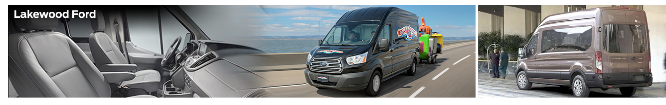 Lakewood Ford presents the New 2016 Ford Transit