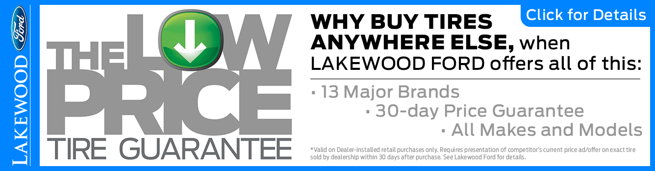 Low Price Guarantee Service Special at Lakewood Ford near Tacoma, WA