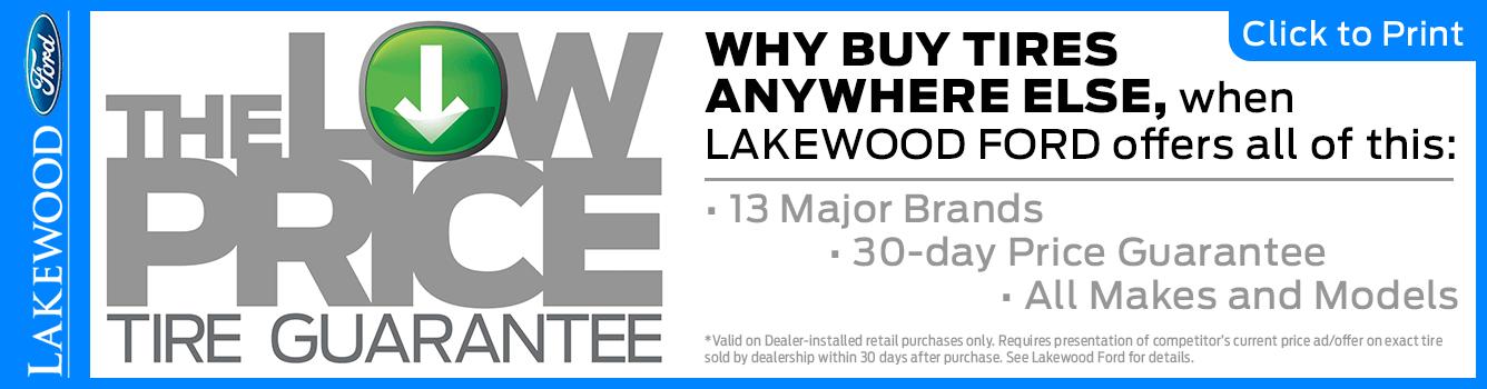 Low Price Guarantee Service Special at Lakewood Ford near Tacoma, WA