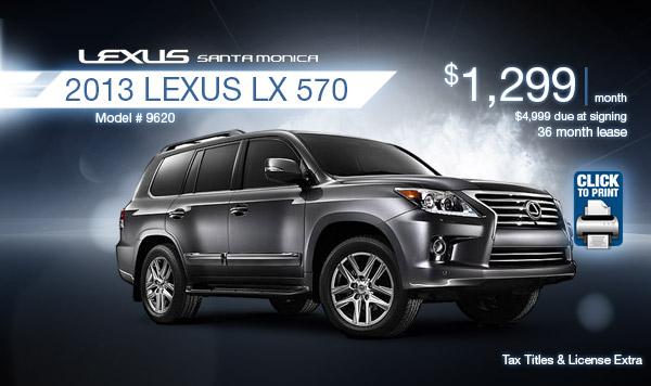 Santa Monica Lexus Lease Specials Los Angeles Area