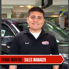 Frank Moreno - Fluent Spanish Sales Professional at Marino CJD in Chicago, IL