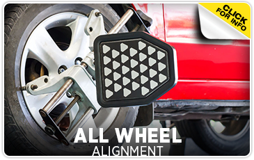 Click to learn more about our all-wheel alignment service in Chicago, IL