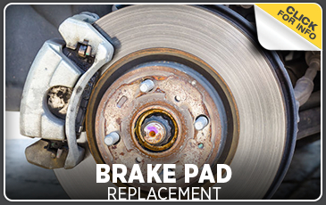 Genuine Chrysler Dodge Jeep Ram Brake Pad Replacement Service
