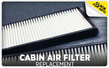 Click to learn more about our cabin air filter service in Chicago, IL