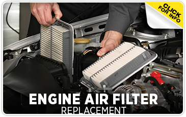 Click to learn more about our engine air filter service in Chicago, IL