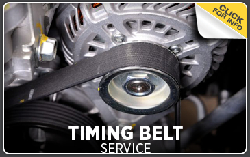 Click to view our timing belt service information in Chicago, IL