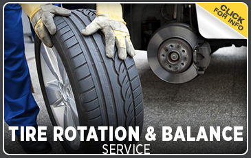 Click to view our tire rotation & balance service information in Chicago, IL