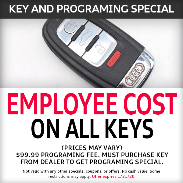 McKenna Audi Key and programing Parts Special