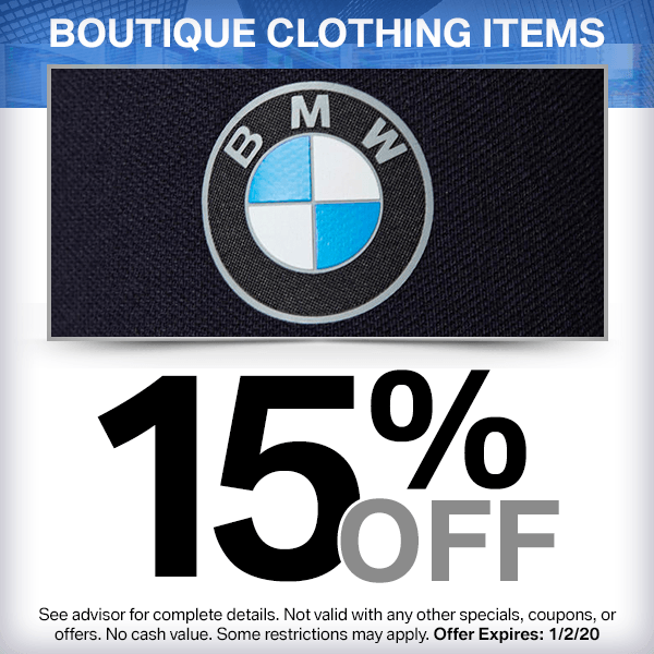 15% off boutique clothing items