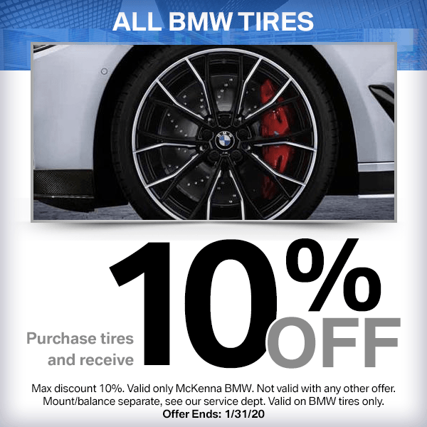 10% Off All BMW Tires in Norwalk, CA