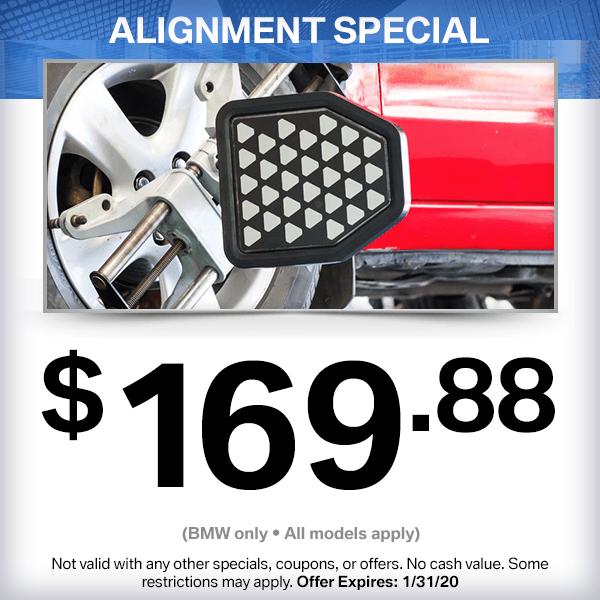 BMW Alignment Service Special in Norwalk, CA