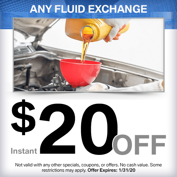 BMW Any Fluid Exchange Service Special in Norwalk, CA