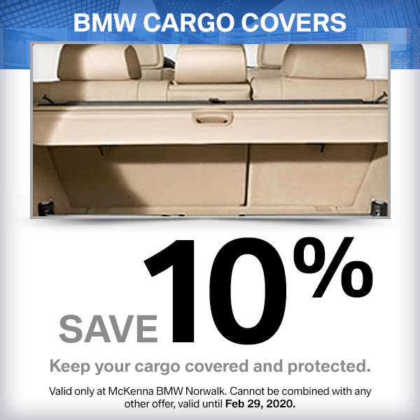 Save On a genuine BMW Cargo Cover and get free installation in Norwalk, CA