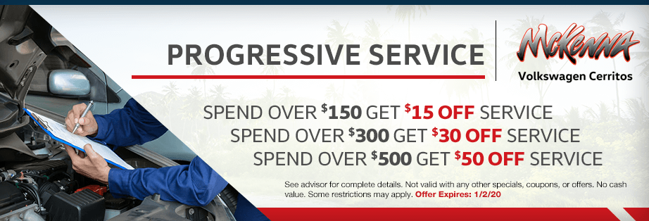 Spend More Save More Service Special