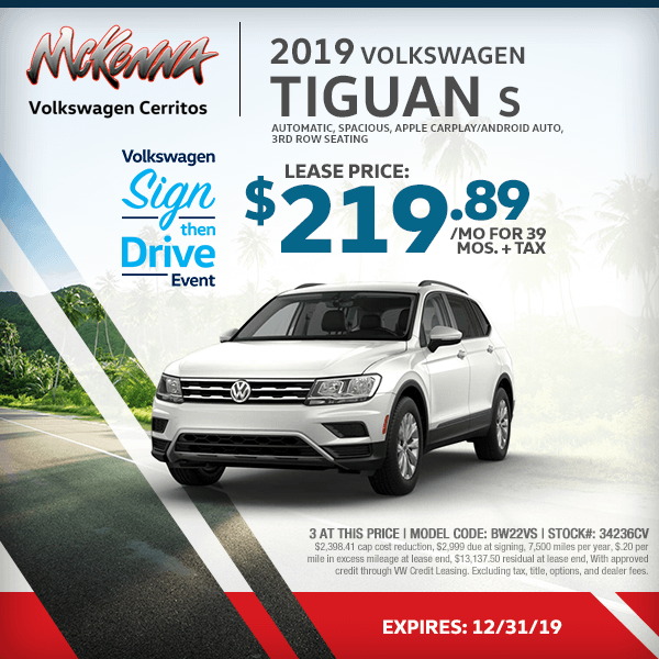 Volkswagen Lease Specials >> New Car Specials At Your Cerritos California Volkswagen