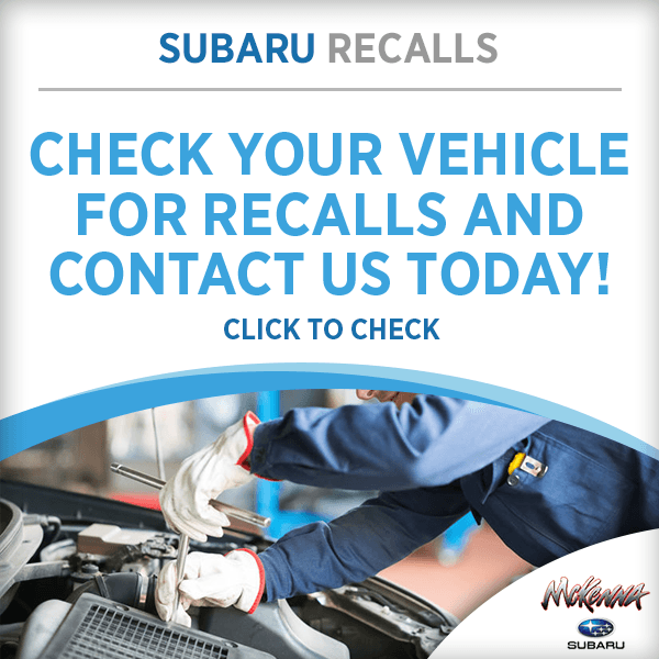Check your vehicle for recalls and contact us today! in Huntington Beach, CA