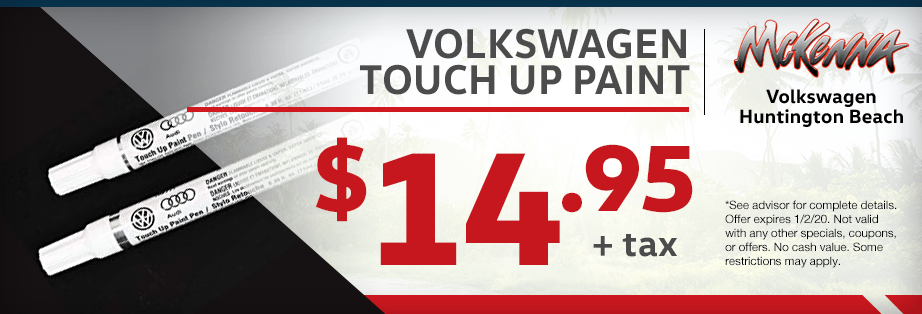 Genuine Volkswagen Touch up paint Parts Special at McKenna Volkswagen in Huntington Beach, CA