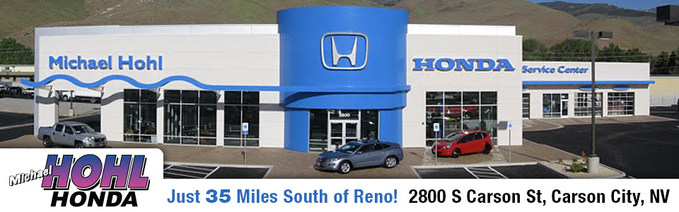 Michael Hohl Honda Directions from Reno, NV to Carson City, NV