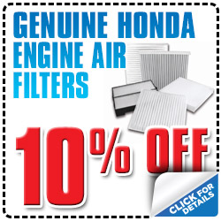 Genuine Honda Engine Air Filter Parts Special serving Reno, Nevada