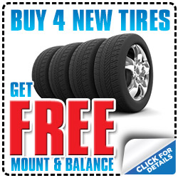 Tire Mount and Balance available at Michael Hohl Honda near Reno, Nevada