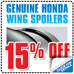 Michael Hohl Honda Wing Spoiler Parts Special serving Reno, Nevada