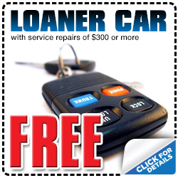 Complimentary Loaner Car with $300 or more in Honda Car Repair in Carson City, Nevada