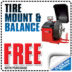 Free Tire Mount & Balance with Tire Purchase at Michael Hohl Honda in Carson City, Nevada
