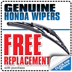 Genuine Honda Wiper Replacement Special in Carson City, Nevada