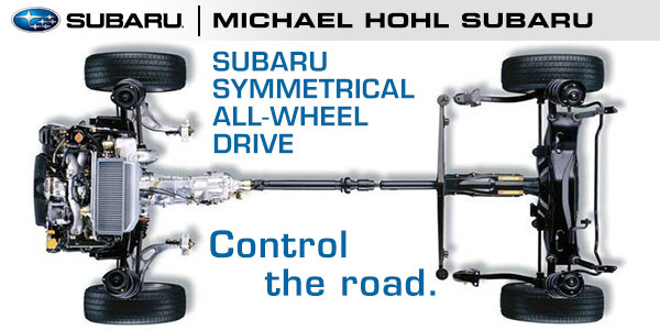 Subaru Symmetrical All Wheel Drive Technology