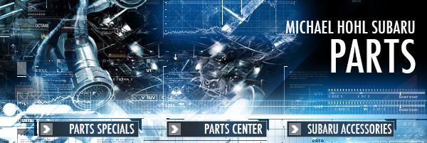 Subaru Parts Special Discounts | Carson City, NV Accessory