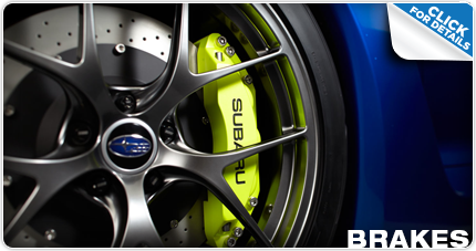 Click to Learn More about Genuine Subaru Brake Pads & Rotors Reno, NV
