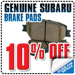 Genuine Subaru Brake Pads Special Reno, NV