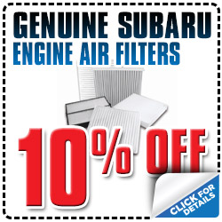 Genuine Subaru Engine Air Filter Special Reno, NV