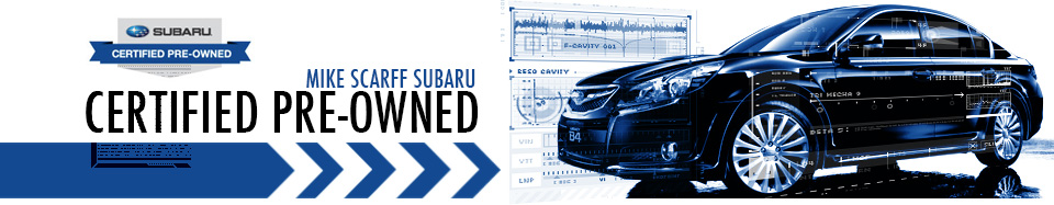 Mike Scarff Subaru Certified Pre-Owned Inventory Auburn, Washington