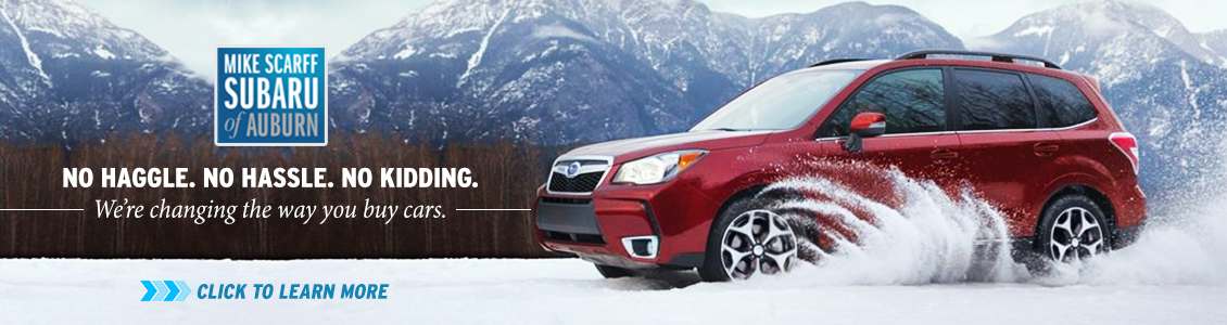Learn more about Mike Scarff Subaru in Auburn, WA, the home of Up Front Pricing